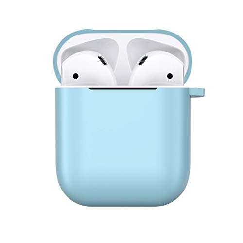 TriLance For Apple AirPods 1th TPU Frosted Case Cover Soft Protective Skin Protective Case Anti Lost Soft Shockproof…