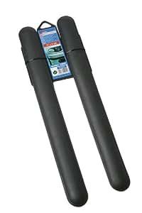 """Sumex 3210255 - Protectores Parachoques, """"Europe"""" 51X5 cm, Color Negro, 2 Unidades"""