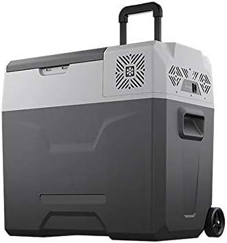 携帯用小型冷蔵庫の圧縮機車の冷却装置 50L 車のフリーザー 12V/24V 220V APP 制御の自動冷蔵庫