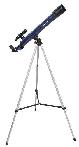 Blue TwinStar AstroMark 50mm 75x Power Refractor Telescope