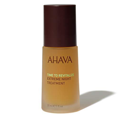 AHAVA Extreme Night Treatment with Dead Sea Minerals, 1oz.|30ml
