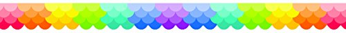 Creative Teaching Press Borders Ombre Scallops Border, Ctp Rainbow (01861)