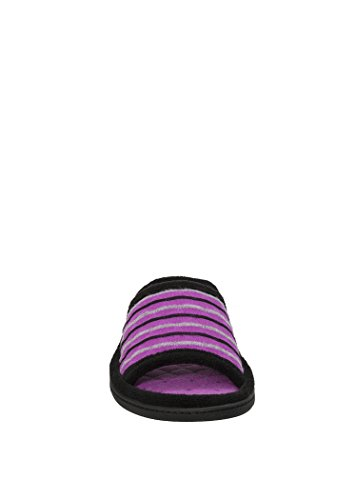 Dearfoams Dames Framboos Sherbert Slides Slipper (large 9-10)
