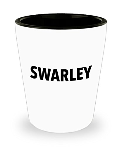 Swarley Ted Barney Shot Glass Mug Cup 1.5oz How I Met Your Mother Tv Show HIMYM Gifts Merchandise Accessories Shirt Sticker Decal Decor