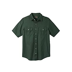 Boulder Creek Men's Big & Tall Short-Sleeve Renegade Shirt