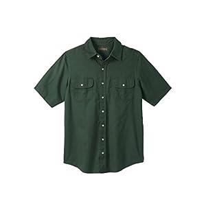 Boulder Creek Men's Big & Tall Short-Sleeve Renegade Shirt