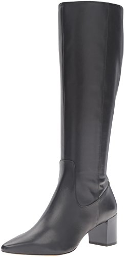 Calvin Klein Women's Nolina Engineer Boot, Black, 8.5 M US by Calvin Klein