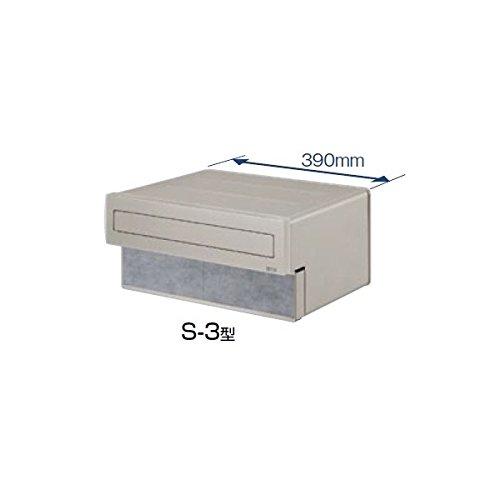TOEX LIXIL エクスポスト 口金タイプ S-3型(1B-15ボックスタイプ) 【リクシル】  ナチュラルシルバーF B00GQVP110 15750 本体カラー:ナチュラルシルバーF 本体カラー:ナチュラルシルバーF