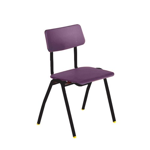 metalliform bsd-bk-lilac Standard Klassenzimmer Sessel mit 380mm, lila