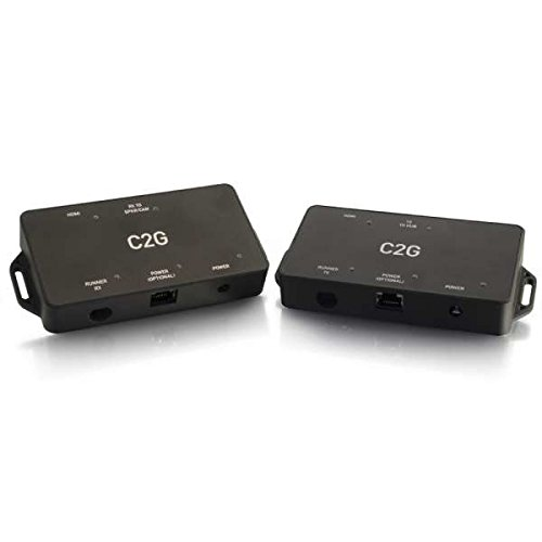 C2G/ Cables To Go 34025 35 Foot Extender for Logitech Video Conferencing Systems Black