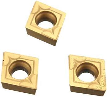PIKA PIKA QIO CCMT060204 US735 CCMT21.51 CNC Carbide Inserts10Pcs for Stahl/Edelstahl Drehwerkzeuge