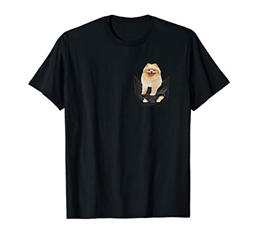 Pomeranian In Your Pocket Dogs Lover Funny Gift Tshirt