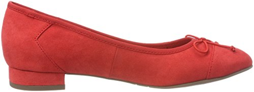 Tamaris Women's 22100 Closed-Toe Pumps Red (Chili Suede) qmwDFRROTd