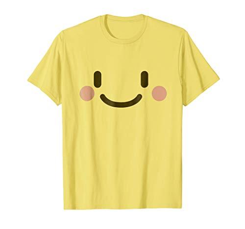 Smiling Face Shirt - Emoji Halloween -