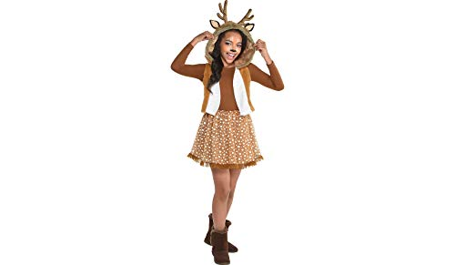 Amscan Harlequin Honey Halloween Costume for Teen Girls, Small, with Included -