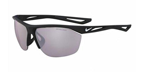 NIKE EV0982-011 Tailwind R Sunglasses (Frame Speed Tint with ML Extra White Lens), Matte Black/White ()