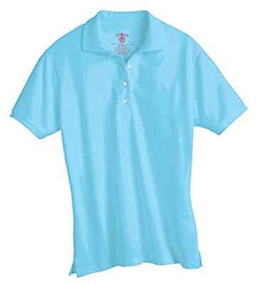 Jerzees Ladies' 5.6 oz., 50/50 Jersey Polo with SpotShield 437W