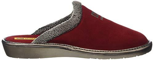 Para Mujer 019 Por Rojo Estar Zapatillas Top De rojo Line Nordikas Casa qg1w0x