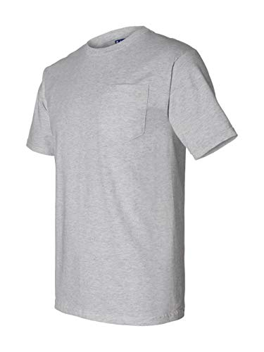 Bayside - Union-Made Short Sleeve T-Shirt with a Pocket - 3015