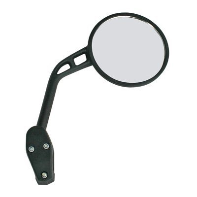 MSR Racing Dual Sport Mirror - Left/Black ()