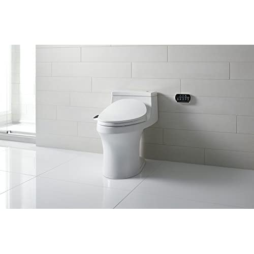 KOHLER K-4108-0 C3 230 Elongated Bidet Toilet Seat with Touchscreen Remote Control, White hot sale 2017