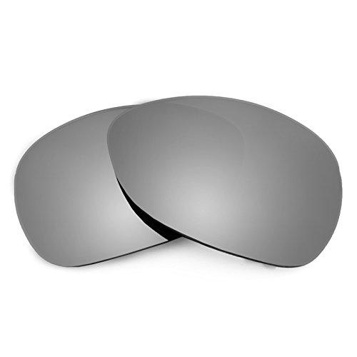Revant Polarized Replacement Lenses for Oakley Crosshair (2012) Elite Titanium - Resistance Scratch Titanium