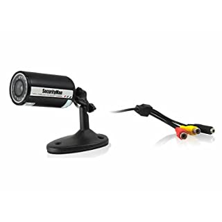 Securityman Weatherproof Bullet Color Camera with 100ft Cable (SM-302)