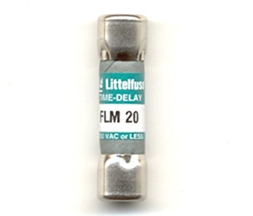 Littelfuse FLM- 20 FLM020, 20Amp 250V Cartridge - Cartridge Fuse Littelfuse