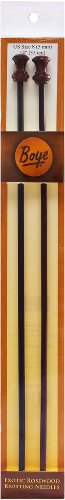 Simplicity Creative Group, Inc Boye 14-Inch Rosewood Knitting Needles, Size 8
