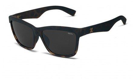 Zeal Optics Unisex Kennedy Torched Tortoise W/Dark Grey Polarized Lens - Warranty Zeal Sunglasses