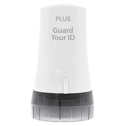 Guard Your ID Advanced Security Roller 2.0 for Identity Theft Prevention Stamping White