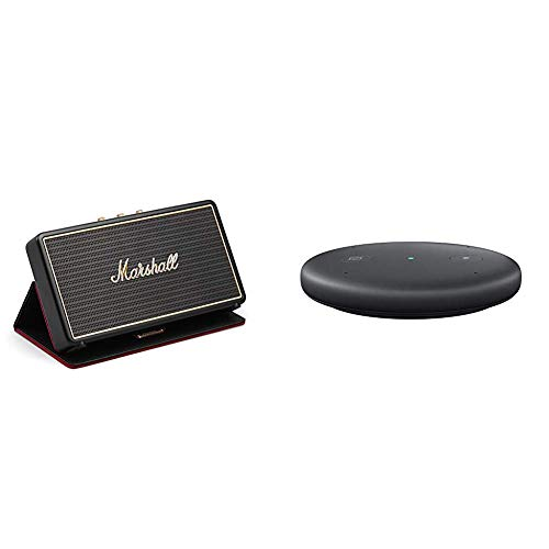 Marshall Stockwell Portable Bluetooth Speaker with Flip Cover with Echo Input