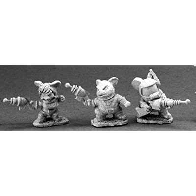 Reaper Miniatures 1434 Space Mouslings by Reaper: Toys & Games
