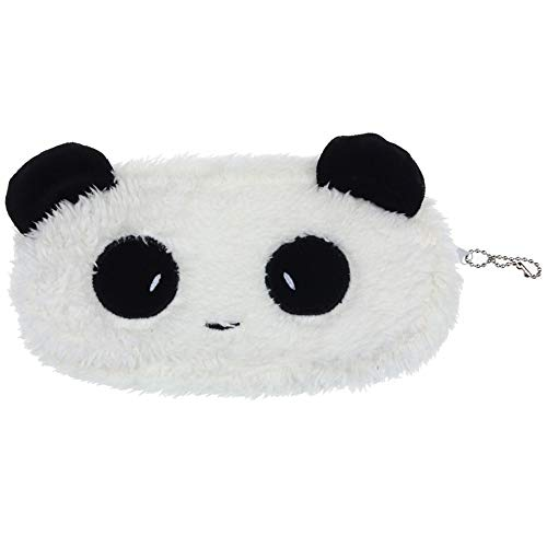 Yumi Fashion - Plush Panda Bag Kawaii Fashion Coin Wallet, Teen Girls Cosmetic Makeup Handbag, Students Pencil Case