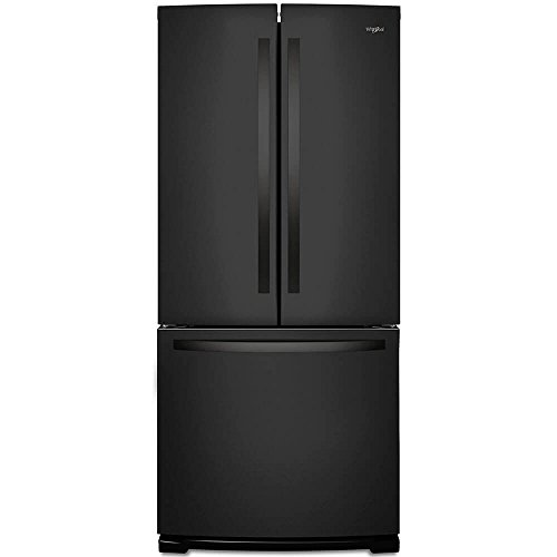 Whirlpool WRF560SMHB 20 Cu. Ft. Black French Door Refrigerat