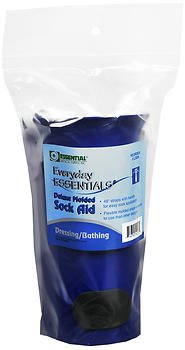 Essential Medical Supply Everyday Essentials Deluxe Molded Sock Aid - 1 Each, Pack of 5 by Everyday Essentials