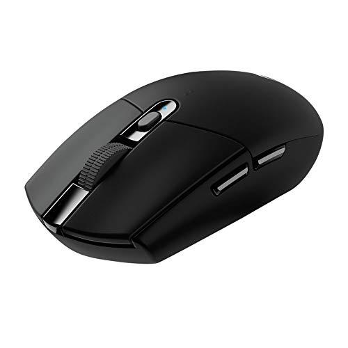 Logitech G305 Lightspeed Wireless Gaming Mouse with Knox 3.0 4 Port USB HUB Bundle