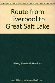 Route from Liverpool to Great Salt Lake