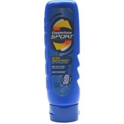 Coppertone Sport Lotion écran solaire, SPF 30, Ultra Sweat-Proof, 8 onces. (Pack de 2)