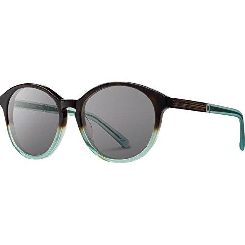 Shwood - Bailey Acetate, Sustainability Meets Style, Sea Moss, Grey Polarized - Eyewear Bailey