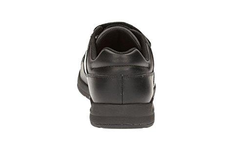 Clarks Jungen Monte Lite BL Turnschuhe, knöchelfrei , schwarz - schwarz - Größe: One Size