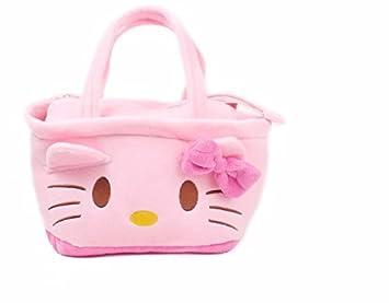 ce8d6cbada Amazon.com   Hello Kitty Handbag Storage bag Cosmetic Makeup Bag Women  Organizer Bag Handbag Travel Bag   Beauty