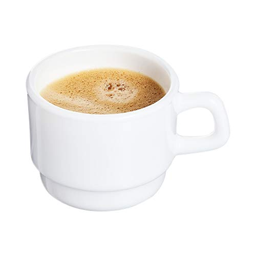 Arcoroc 22795 Restaurant Mug, White (Pack of 12) ()