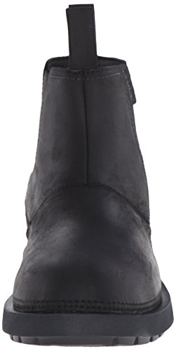 Crocs Breck M - Botas de otra piel hombre Nero (Black/Black)
