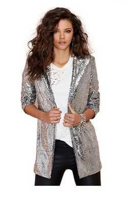 Fengyi Ga & ga Flare bolsillo lateral chaqueta/Blazer de ...
