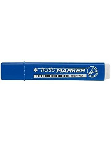 Tratto 104104 Marcatore Blu Confezione da 12 Pezzi