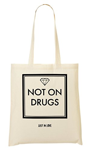 Not On Drugs In Cool Bolso De Mano Bolsa De La Compra