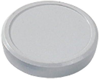 H/öhe 7 mm x Durchmesser 40 mm mm Dahle B/ürotechnik Magnet 40 mm grau Dahle 08.95540 800 g,