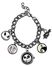 Nightmare Before Christmas Watch - Official Licensed Disney The Nightmare Before Christmas Watch Charm Bracelet