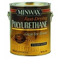 (Minwax 71028000 Fast-Drying Polyurethane, gallon, Satin)
